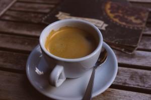Чаша черно кафе